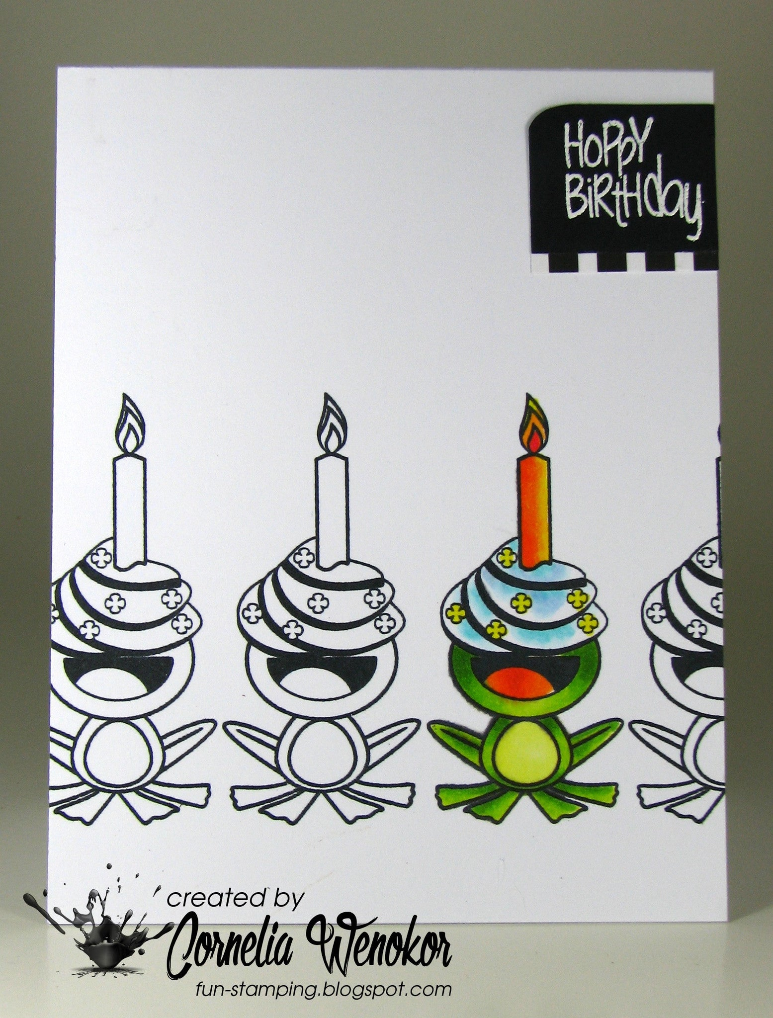 Hoppy Birthday Clear Stamps - Joy Clair - 8