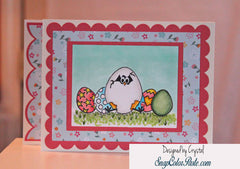 Easter Eggs Clear Stamps - Joy Clair - 10