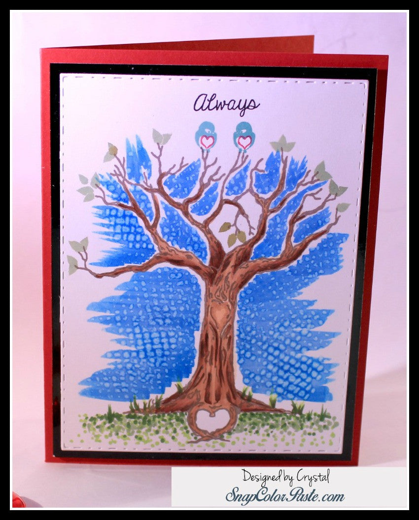 The Love Tree Clear Stamps - Joy Clair - 9