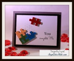 You and Me Sentiments Clear Stamps - Joy Clair - 7