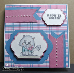 Just Kitten Around Clear Stamps - Joy Clair - 6