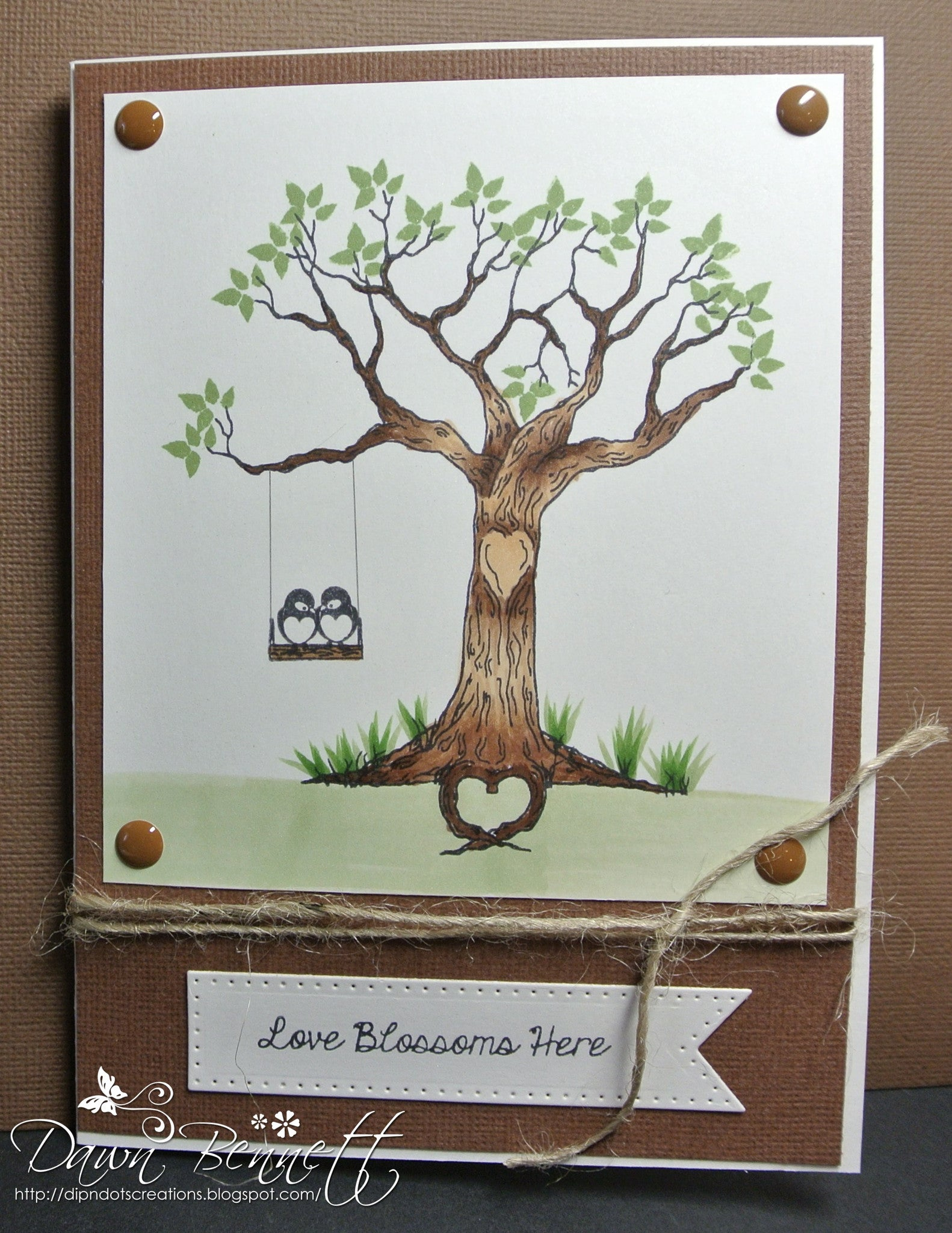 The Love Tree Clear Stamps - Joy Clair - 12
