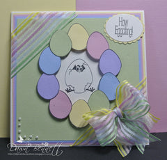 Easter Eggs Clear Stamps - Joy Clair - 12