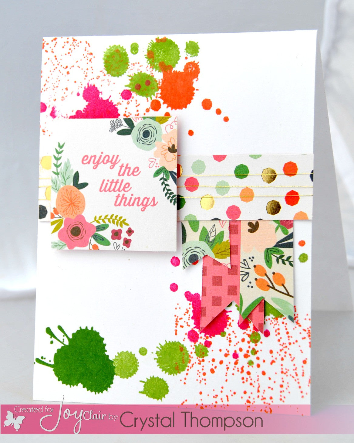 Uh-Oh Ink Splatter Clear Stamps - Joy Clair - 9