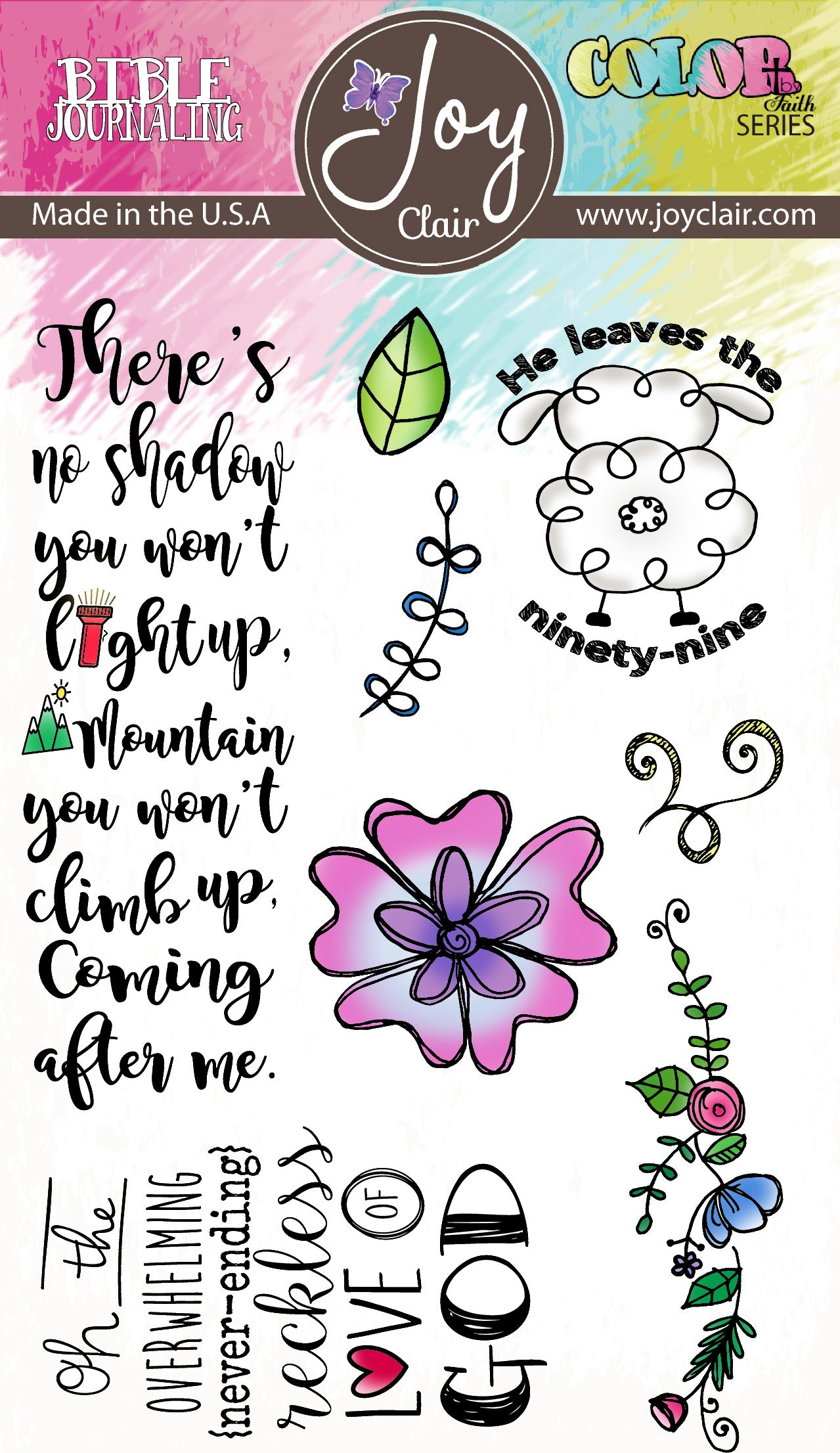 Reckless Love  | Bible Journaling Clear Stamp