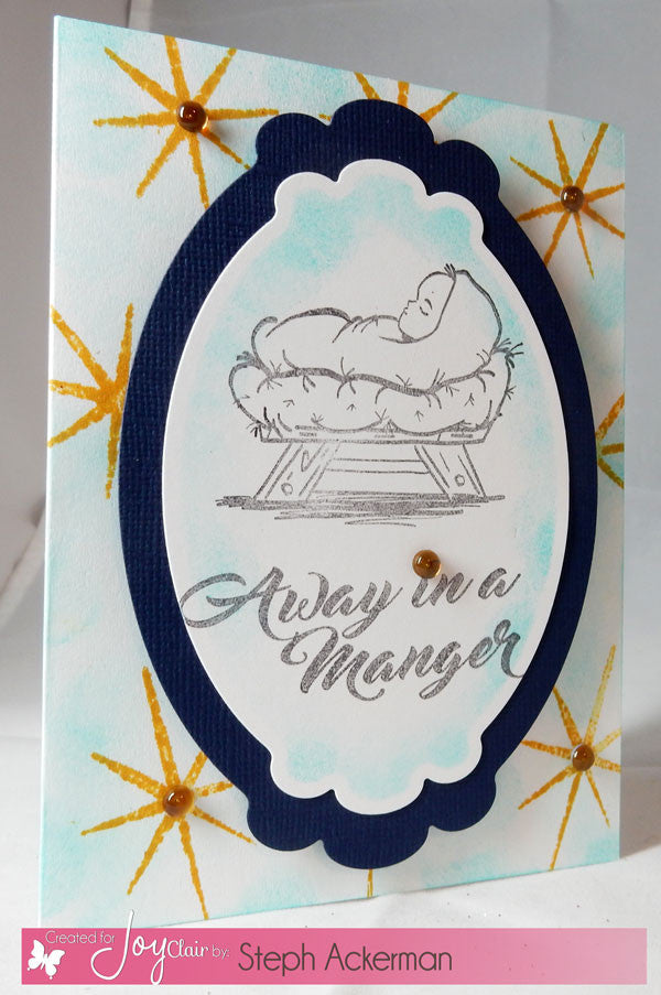 Clear Stamps - Away in a Manger | Bible Journaling Clear Stamps - Joy Clair - 4