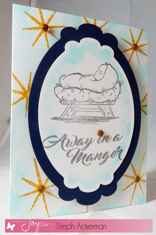 Away in a Manger | Bible Journaling Clear Stamps