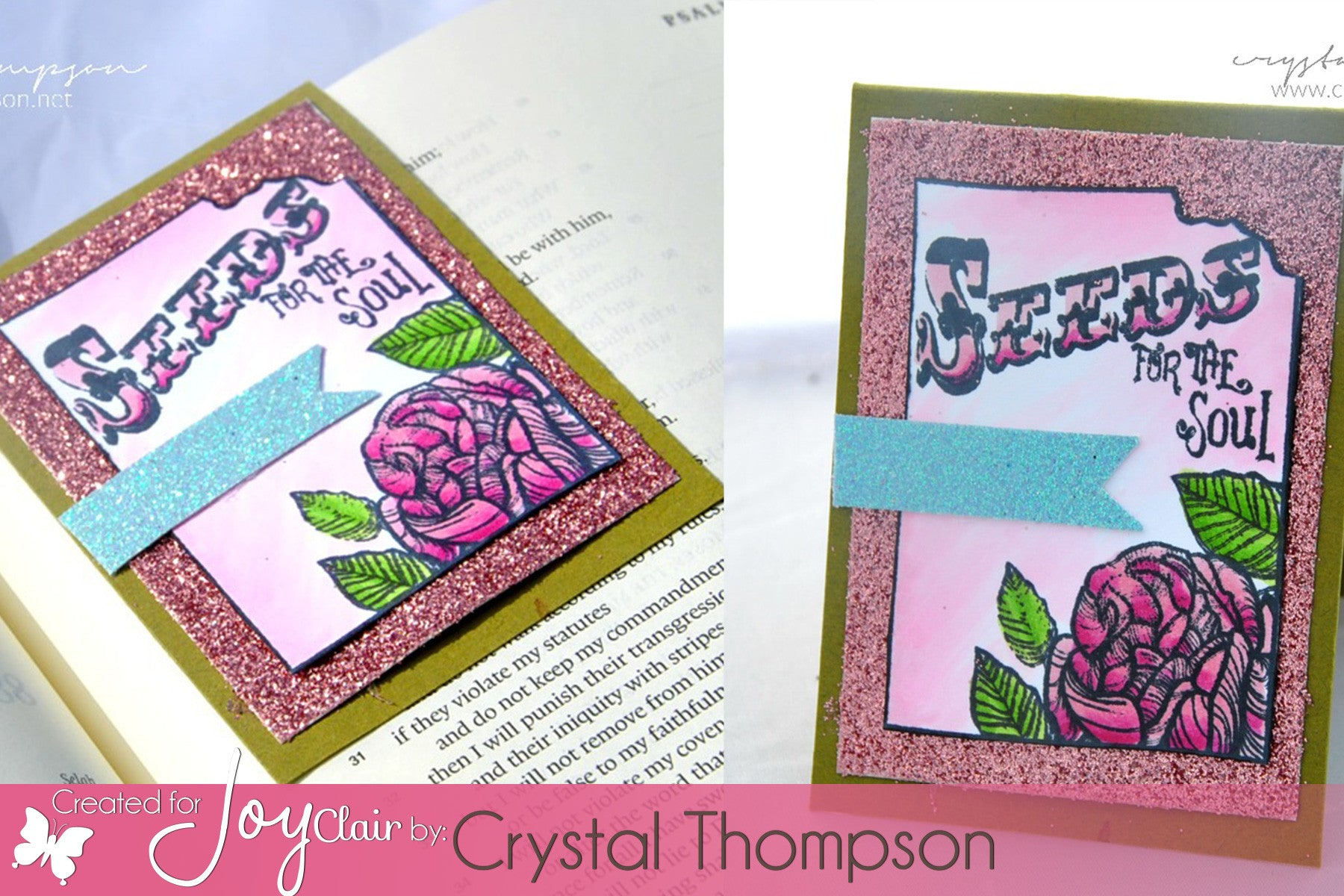 Clear Stamps - Seeds of Faith | Bible Journaling Clear Stamps - Joy Clair - 3