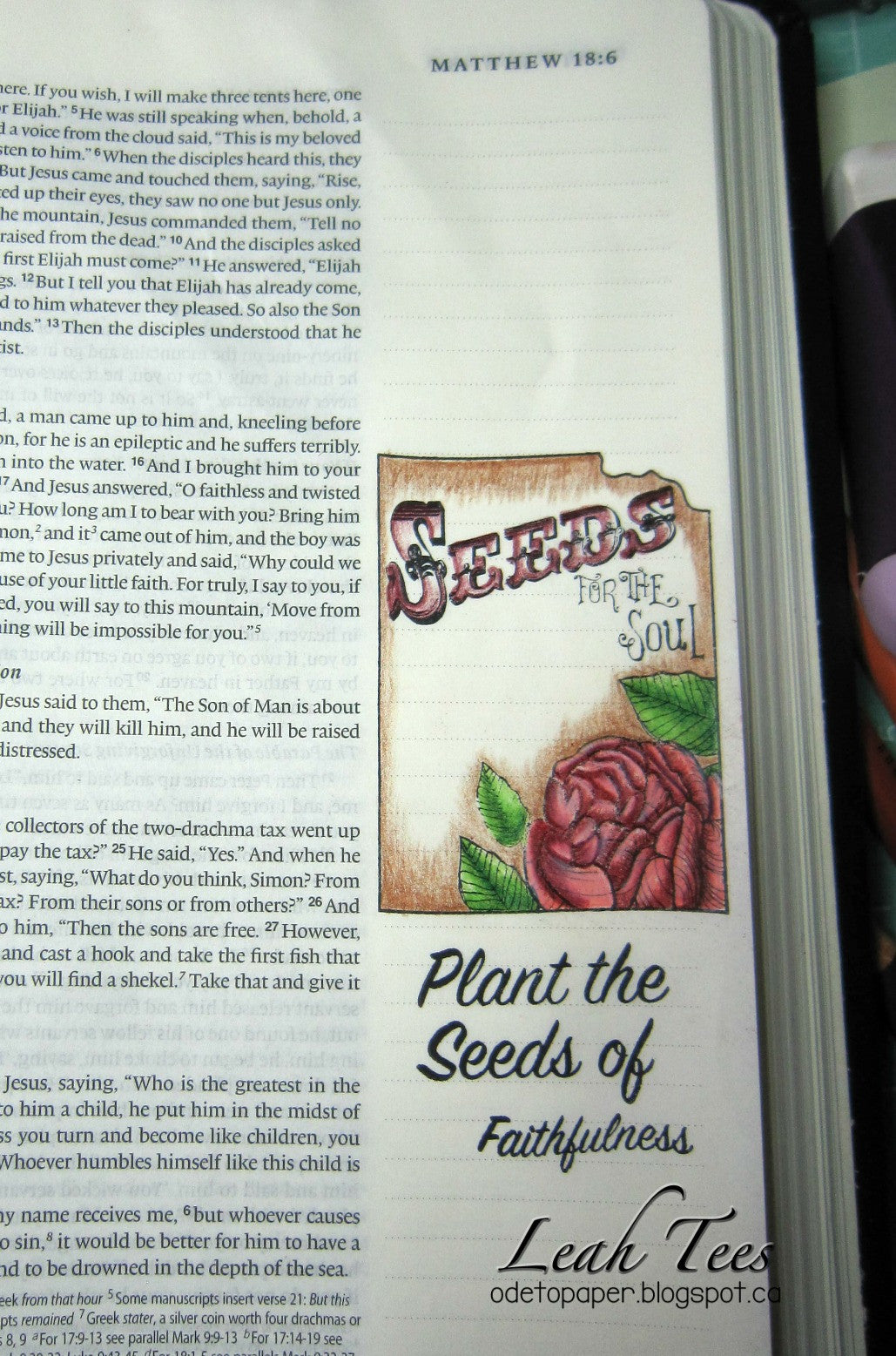 Clear Stamps - Seeds of Faith | Bible Journaling Clear Stamps - Joy Clair - 7