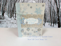 Snow Fall Clear Stamps - Joy Clair - 3