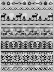 Ugly Sweater Background Builder