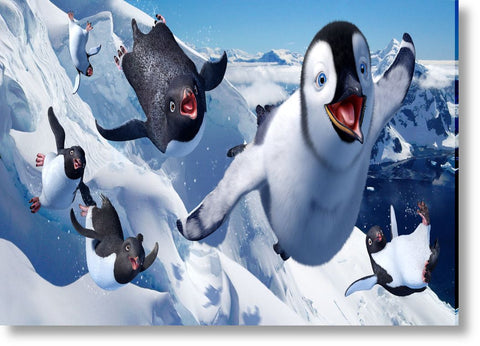 Cuadros de Happy Feet