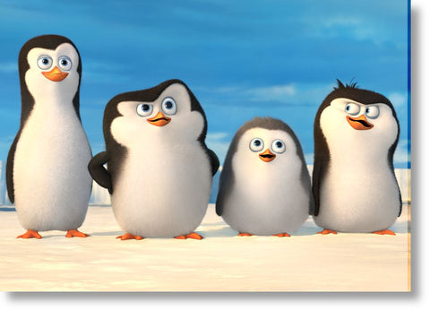 Cuadros de Penguins of Madagascar