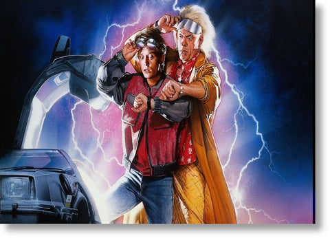 Cuadros de Back to the Future