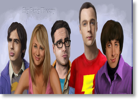 Cuadros de Big Bang Theory