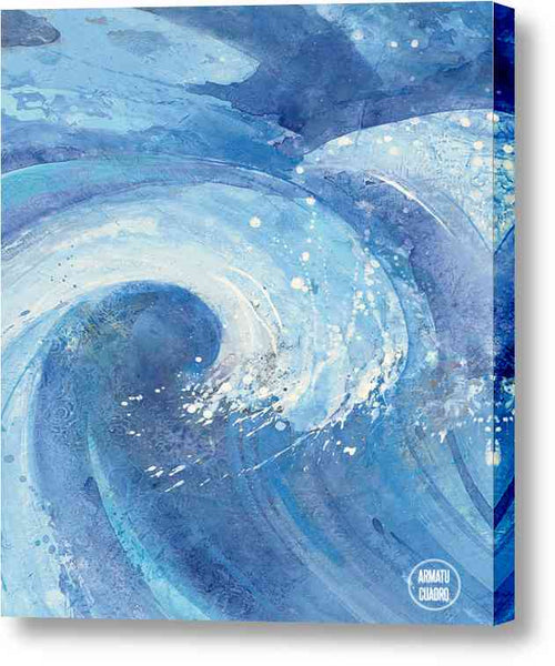 Cuadro Abstracto Albena Hristova The Big Wave Ii