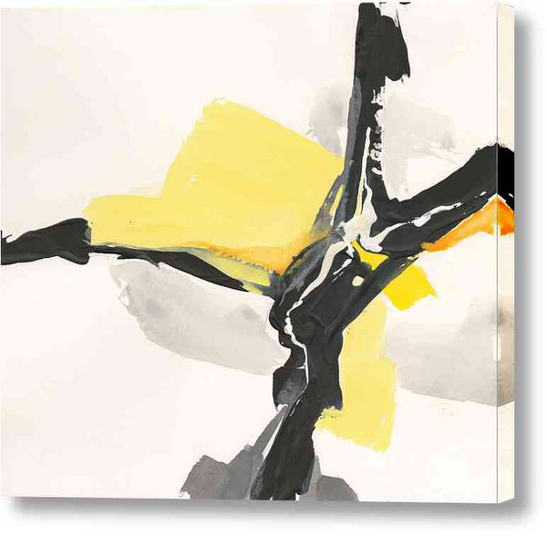 Cuadro Abstracto Chris Paschke Creamy Yellow Iii