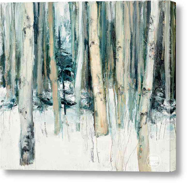 Cuadro Abstracto Julia Purinton Winter Woods Ii