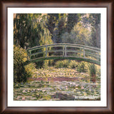 Cuadro Obras De Arte, Arte Impresionista, Puente, Lago Claude Monet The Japanese Footbridge, Giverny