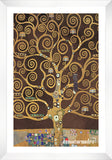 Cuadro Obras De Arte, Abstracto, Figurativo, Arboles Gustav Klimt Tree Of Life (Brown Variation) (Detail)