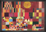 Cuadro Obras De Arte, Arte Abstracto Paul Klee Castle And Sun (Detail)