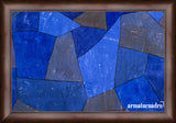 Cuadro Obras De Arte, Abstracto, Formas Paul Klee Rocks At Night