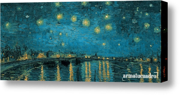 Cuadro Obras De Arte, Arte Posimpresionismo, Lago Vincent Van Gogh The Starry Night (Detail)