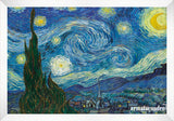 Cuadro Obras De Arte, Arte Posimpresionismo, Lago Vincent Van Gogh  The Starry Night