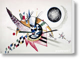 Cuadro Obras De Arte, Abstracto, Colorido Wassily Kandinsky Watercolor Painting Of Composition