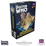 Warlord Games Dr Who Time Vortex Abzorbaloff & Victor Kennedy