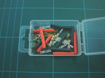10pk Micro Spad Connectors & Heat Shrink