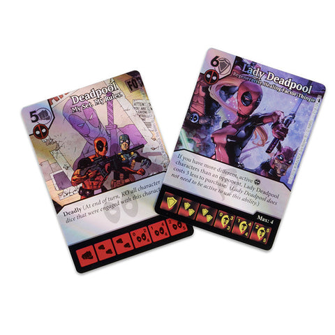 Wizkids Deadpool Dice Masters