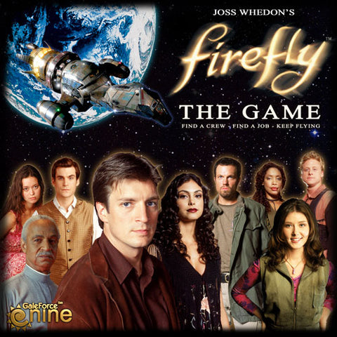 Gale Force Nine Firefly The Board Game