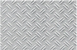 Expo Double Diamond Plate Plastic Pattern Sheet 6mm 1/24 O Gauge