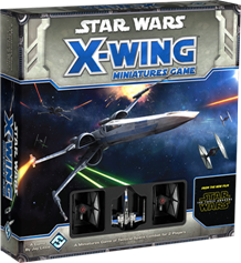 Fantasy Flight Games - X-Wing Miniatures Game The Force Awakens X-wing Core Set
