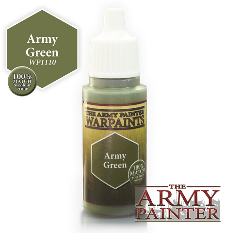 Army Painter Army Green Warpaints