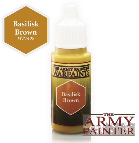 Army Painter Basilisk Brown Warpaints