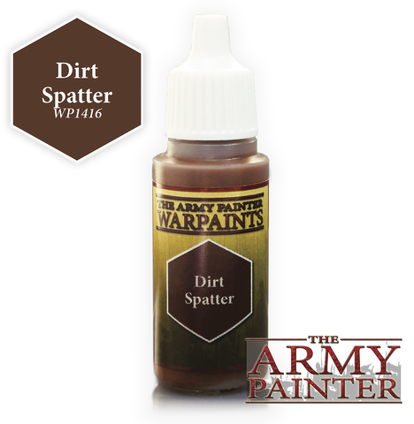 Army Painter Dirt Spatter Warpaints