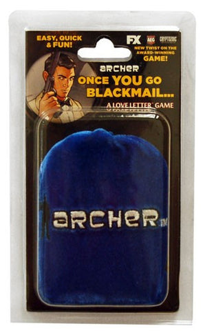 AEG Cryptozoic Archer - Once You Go Blackmail Love Letter Clamshell