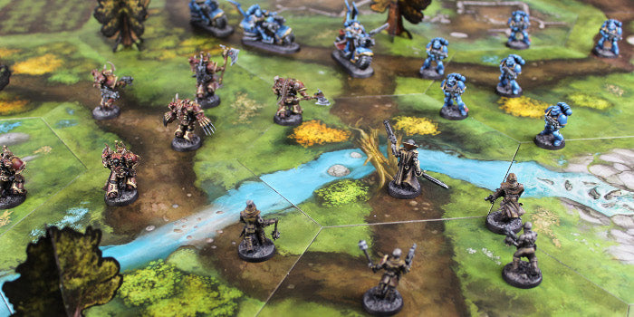 Tabletop Terrain Coasts and Rivers Photo