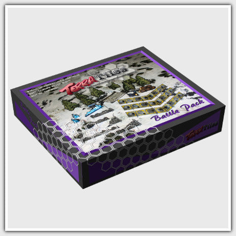 TerraTiles: Battle Pack Standup 3D Terrain