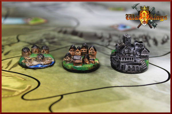 War of Kings - Medieval Strategy Board Game