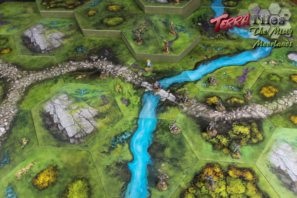 TerraTiles: The Misty Moorlands - Modular Tabletop Terrain