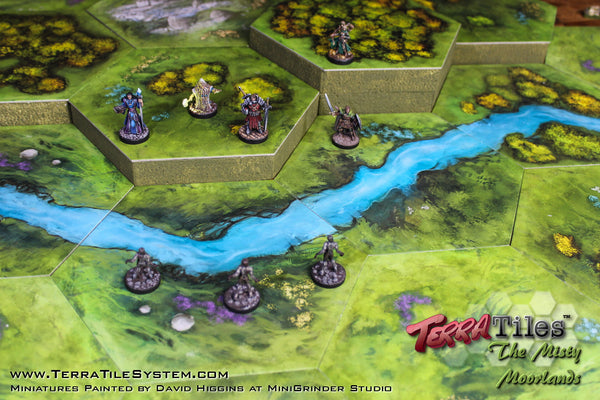 TerraTiles Modular Tabletop Terrain for RPGs and wargames