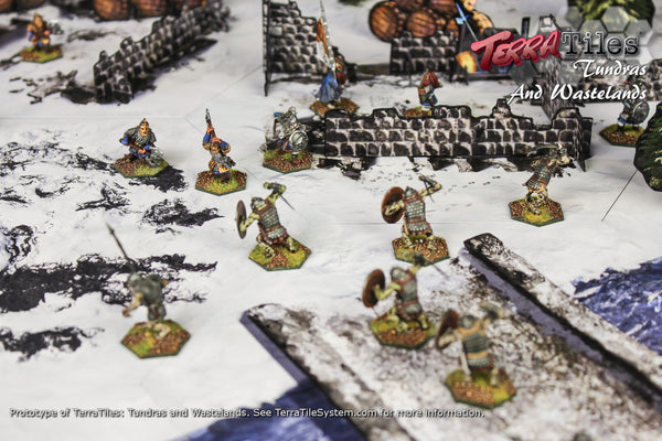 TerraTiles: Caverns, Tundras & Wastelands - Modular Tabletop Terrain