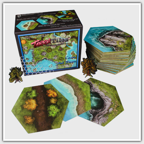 TerraTiles: Coasts and Rivers - Modular Tabletop Terrain