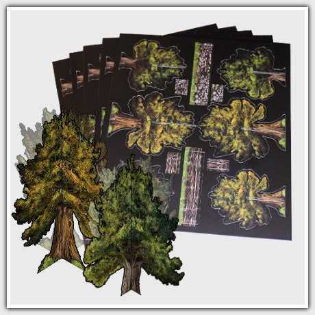 TerraTiles: 3D Standup Trees and Walls Bundle