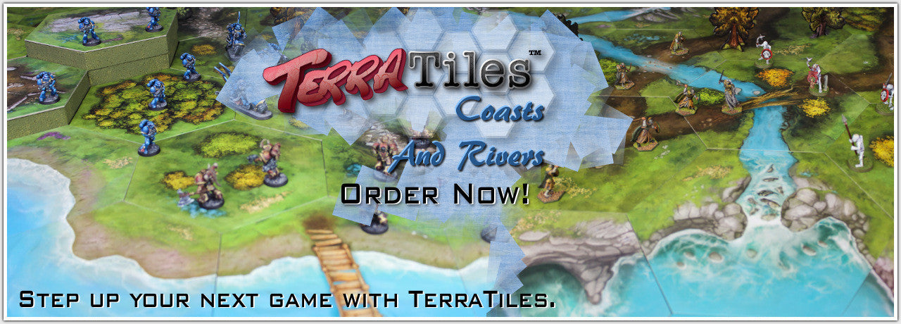 TerraTiles: Coasts & Rivers