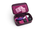 hygenic travel storage case for sex toys and vibrators