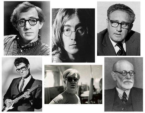 famous NewYorkers wearing MOSCOT over the years
